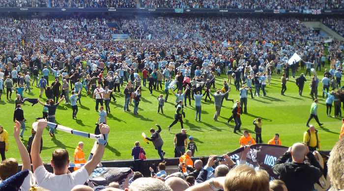 Manchester City Crowd